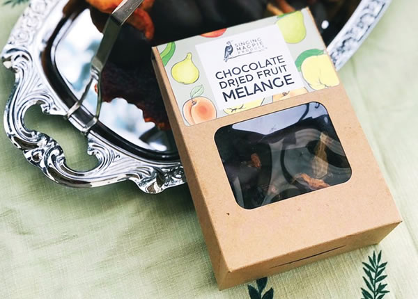 Chocolate Labels - Singing Magpie Produce