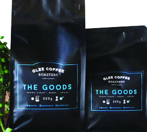 Coffee Labels - Glee Coffee Roasters - The Goods