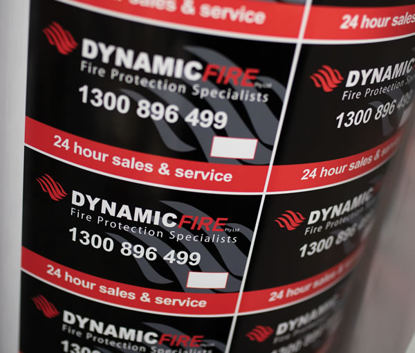 Outdoor Labels - Dynamic Fire